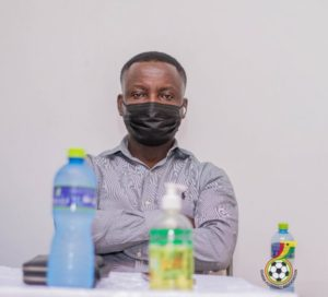 GFA EXCO member Frederick Acheampong encourages Berekum clubs to make good use of Referees Complaint Forms