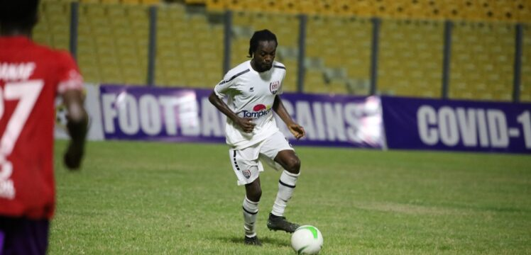 2020/21 Ghana Premier League: Inter Allies midfielder Richmond Lamptey named NASCO MVP in Hearts defeat