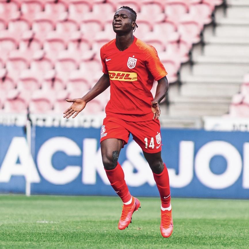 Ghana teen Kamal Deen Sulemana bags brace to steer FC Nordsjaelland to 4-3 win at Randers