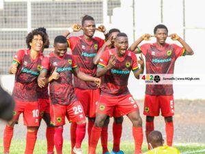 20/21 Ghana Premier League: Asante Kotoko takes top spot after matchday 19