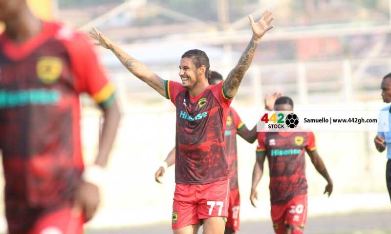 I made a real impact at Asante Kotoko despite my short spell - Brazilian striker Micheal Vinícius