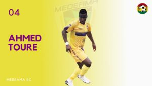2020/21 Ghana Premier League: Medeama striker Amed Toure to miss Legon Cities tie