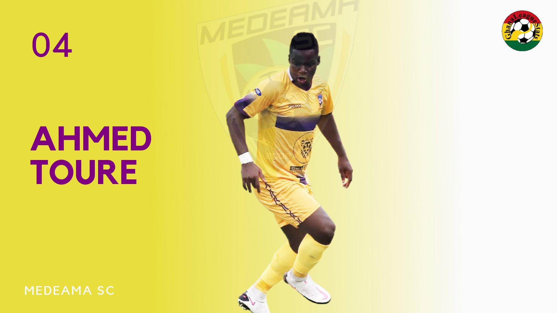 2020/21 Ghana Premier League: Medeama striker Amed Toure to miss Legon Cities tie