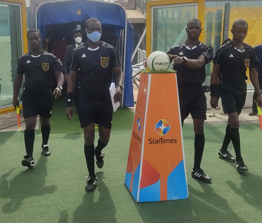 2020/21 Ghana Premier League: Match officials for week 19 announced