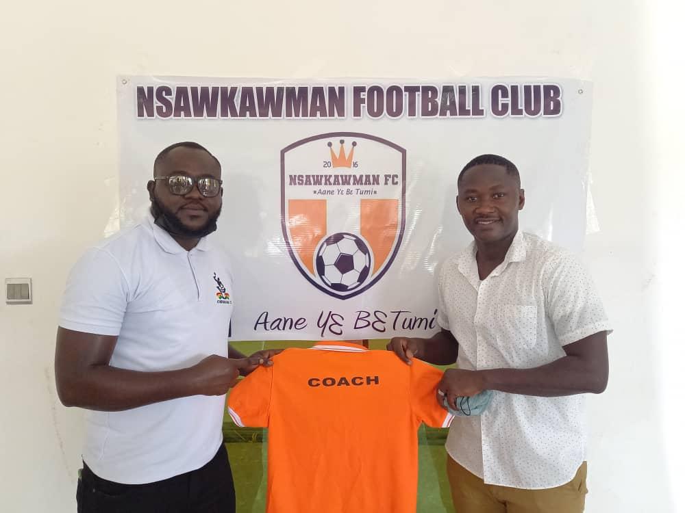 Divsion Two side Nsawkawman FC appoint ex-Kotoko striker Eric Bekoe as head coach