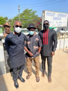 Football Family turn up to pay last respect to former Ghana defender Justice Boison