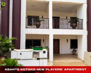 Asante Kotoko management unveil magnificent apartment for players