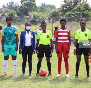 Ghana Women's Premier League: Match officials for week nine announced