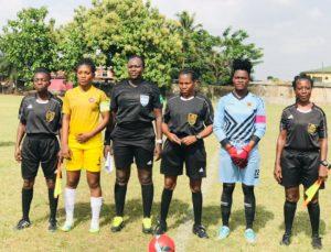Ghana Women's Premier League: Match officials for week 10 announced