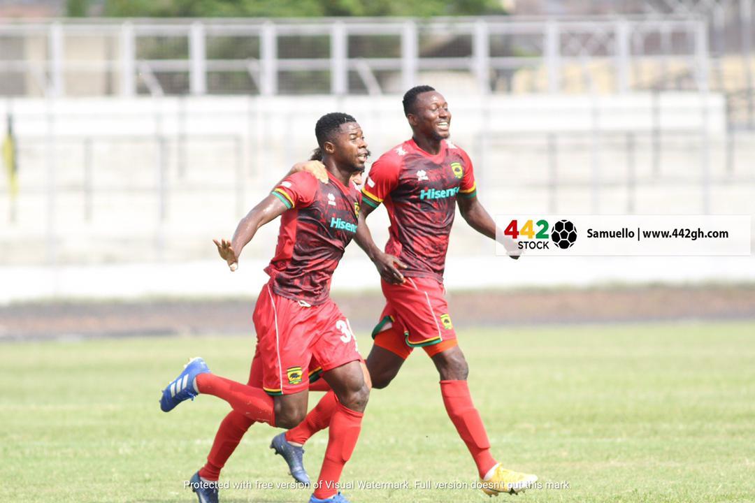 20/21 Ghana Premier League: Asante Kotoko thump Bechem Utd 4-0 after delightful performance