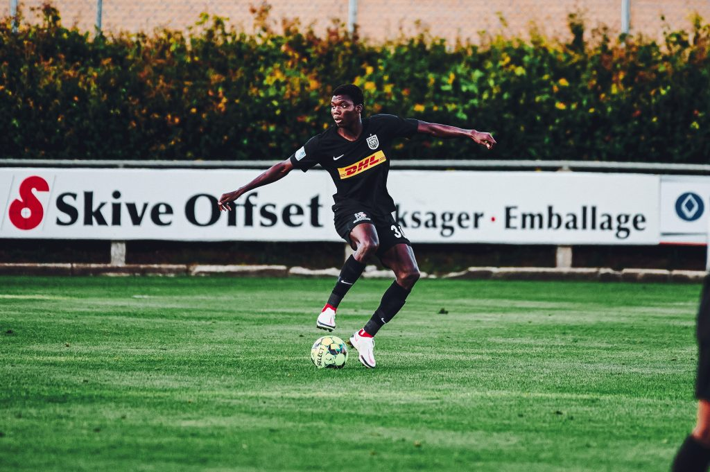 Maxwell Woledzi discusses why his game time at Nordjaelland is limited