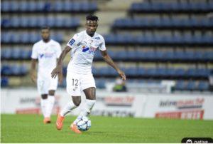 Emmanuel Lomotey to miss Amiens match against Rodez