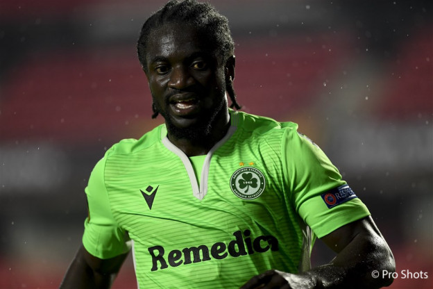 Omonia Nicosia offers words of encouragement to injured Ernest Asante