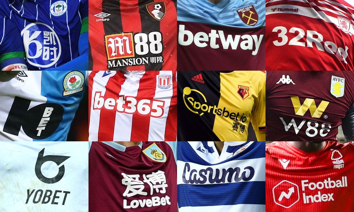 Gambling Sites Sponsor Premier League Clubs