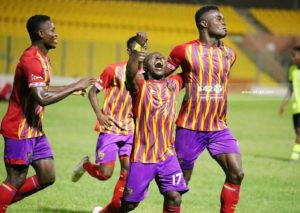 GPL HIGHLIGHTS: Hearts of Oak win fifth game in a row after beating Berekum Chelsea