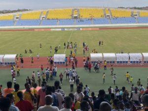 Ebusua Dwarfs v Legon Cities abandoned after home fans threaten match officials
