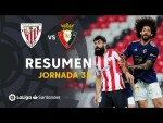 Resumen de Athletic Club vs CA Osasuna (2-2)