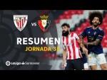Resumen de Athletic Club vs CA Osasuna (2-2)