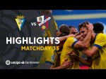 Highlights Cádiz CF vs SD Huesca (2-1)