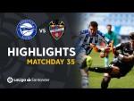 Highlights Deportivo Alavés vs Levante UD (2-2)