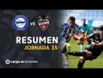 Resumen de Deportivo Alavés vs Levante UD (2-2)