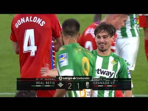 Highlights Real Betis vs Granada CF (2-1)