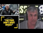 """THE FANS DON'T WANT BRUCE!"" Shaun Custis defends Steve Bruce & his Newcastle United record!"