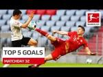 Top 5 Goals - Lewandowski, Sancho & More