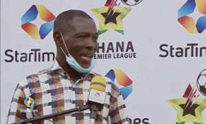 'I wanted to close the point gap on Hearts of Oak' - Karela United coach Evan Adotey after stalemate with Olympics