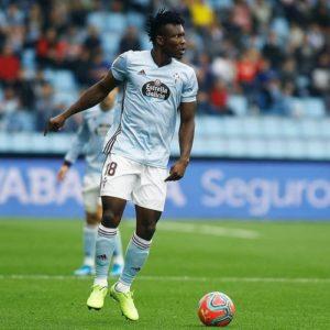 Ghana defender Joseph Aidoo expected to be fully fit for Celta Vigo's clash against Villarreal