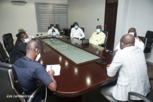 Hasaacas Ladies Executives call on GFA boss Kurt Okraku