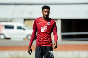 Forward Benjamin Tetteh praises his coach Sumudica