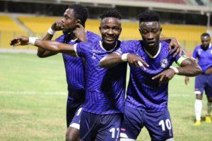 20/21 Ghana Premier League matchday 24: Stephen Amankona stars for Berekum Chelsea in 3-1 win against Ashgold