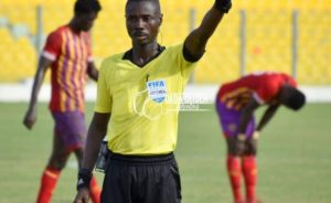 Ghanaian referee Charles Bulu back in action; set to officiate Legon Cities vs Liberty Professionals