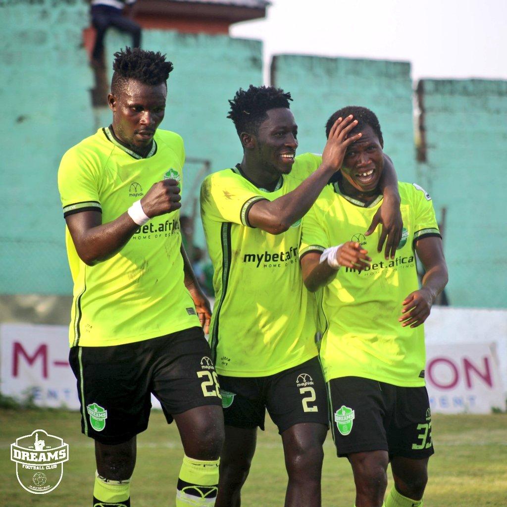 2021 Ghana Premier League: Dreams FC v Bechem United matchday 26 report