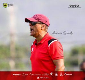 Asante Kotoko coach Mariano Barreto returns to Portugal to renew coaching license