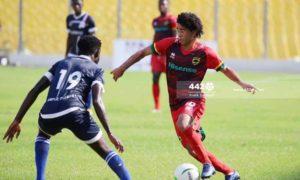 GPL HIGHLIGHTS: Leaders Asante Kotoko fight to draw 1-1 at Liberty