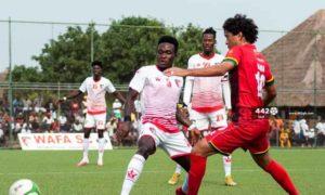 GPL HIGHLIGHTS: Impressive WAFA hold Asante Kotoko to a 1-1 draw in Obuasi