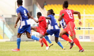 GPL HIGHLIGHTS: Great Olympics fight to draw with Karela Utd in Anyinase