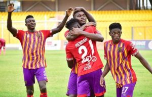 CAF Champions League: Abubakari Damba urges Hearts of Oak to be confident against Wydad Athletic Club