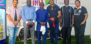 GFA/FIFA Forward delegation visits Inter Allies