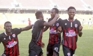 20/21 Ghana Premier League matchday 23: Inter Allies stun Elmina Sharks with vital 2-0 win