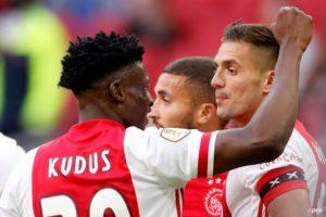 Ghana star Kudus Mohammed wins Dutch League in his debut season with Ajax