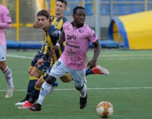 Moses Odjer to miss Palermo game against Teramo