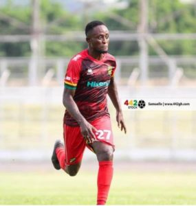 Asante Kotoko striker Andy Kumi joins ArthurLegacy Sports management