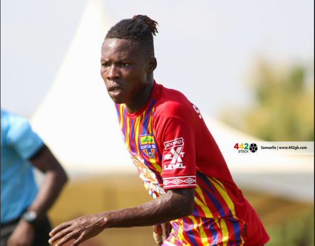 Hearts of Oak's Ibrahim Salifu touted as the best player in GPL by Yahaya Mohammed