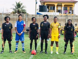 Ghana Women's Premier League: Match officials for week 12 announced