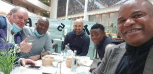 Ghanaian youngster Abdul Fatawu Isahaku in Germany to seal Bayer Leverkusen deal