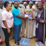 Board Chairman of Legon Cities FC donates to Oti Muslim community