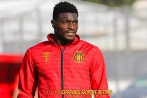 Ghanaian forward Abdul Basit Khalid wins Tunisian league title with Esperance
